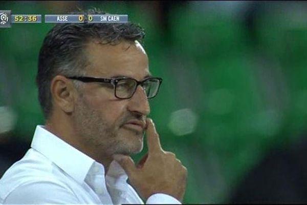 Christophe Galtier l'entraîneur des verts- le 13/09/2014