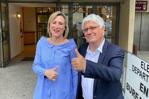 Elections départementales 2021, Philippe Martin, le président sortant et son binôme Elodie Lanave réélus dans le canton la Baïse-Armagnac.