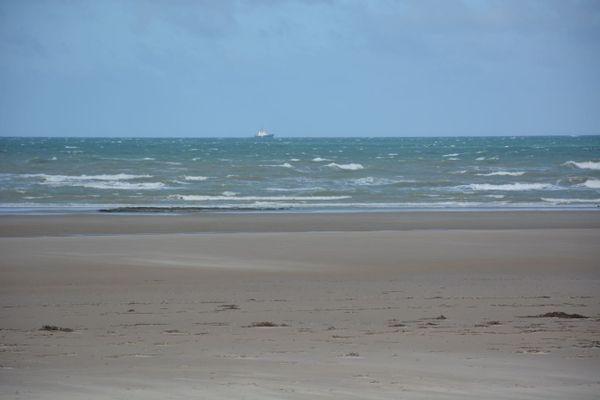 Image d'illustration de la plage du Portel dans le Pas-de-Calais.