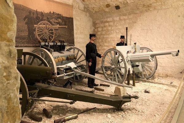 Le musée du Fort de la Pompelle, près de Reims, est un haut lieu de la guerre 14-18.