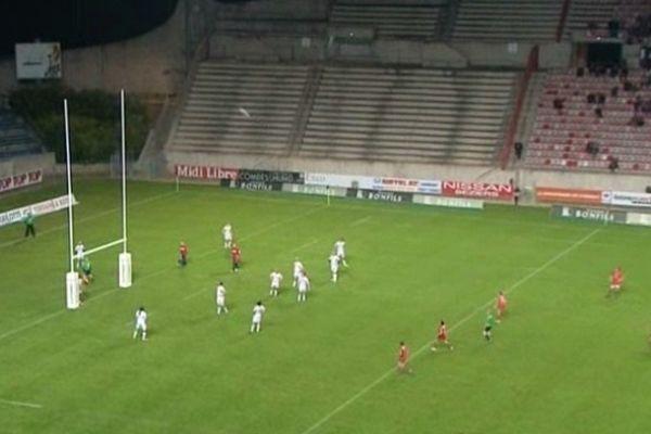 Béziers (Hérault) - l'ASBH bat Lyon 20 à 16 - 12 janvier 2013.