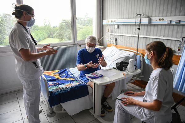 Entre le 20 et le 27 juillet dernier, le nombre d'hospitalisations liées au Covid-19 a doublé dans le Val-d'Oise.