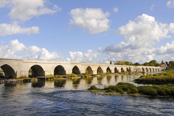 Les bords de Loire à Beaugency.