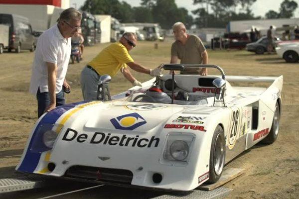 Le Mans Classic permet aux anciennes voitures de course de parcourir à nouveau la ligne droite des Hunaudières.