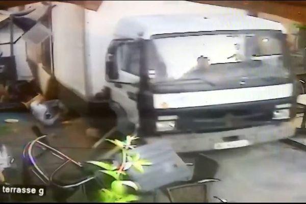 Photo extraite des images prises par une des caméras de vidéo-surveillance du restaurant Le bastion à Blaye