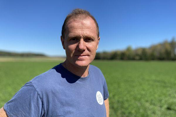 Nicolas Blanc de la ferme des Lochères