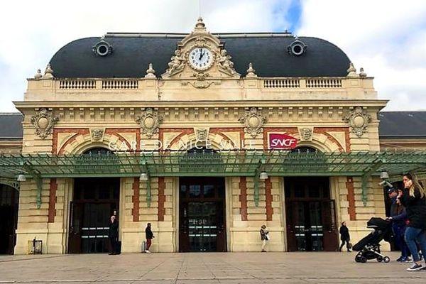 La gare Thiers à Nice.