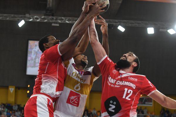 Basket ProB - OLB Orléans Loiret vs Saint-Chamond. Le 3 novembre 2018.