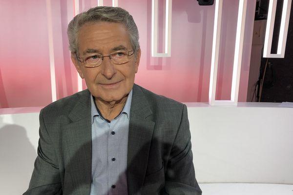 Maurice Favreau, maire de Goussay les Bois