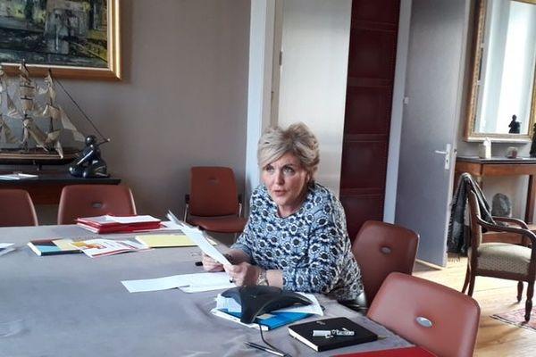 """"""" Le séisme au Teil... c'est vraiment ce sujet là qui restera pour moi le plus marquant, lors de mon passage en Ardèche"""" a expliqué Françoise Souliman qui quittera le département le 25 janvier 2021"""