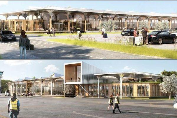 C'est le projet élaboré par l'architecte Jacques Ferrier qui a été retenu pour la nouvelle aérogare de l'aéroport de Deauville