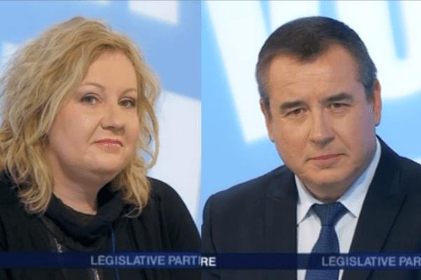 Les candidats du second tour de la égislative partielle 1er tour 4ème circonscription Doubs