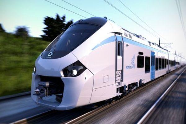 Le Coradia Polyvalent destiné à l'Algérie est un train bi-mode.