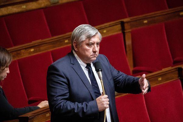 Paris, France le 25 septembre 2019. Pascal Brindeau, député UDI du Loir et Cher à l'Assemblée Nationale
