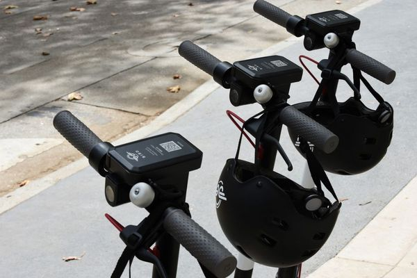 70 trottinettes électriques en libre-service sont disponibles à Ajaccio depuis fin août.