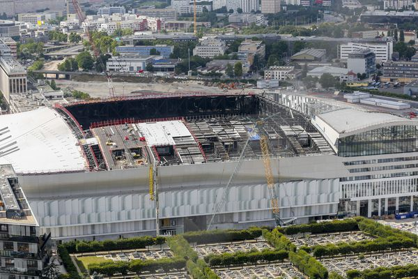 L'U Arena, à Nanterre, dans les Hauts-de-Seine.