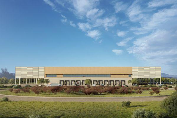 La plateforme logistique de Vectura devrait voir le jour courant 2021 sur le site de l'Aéroparc de Fontaine, près de Belfort.