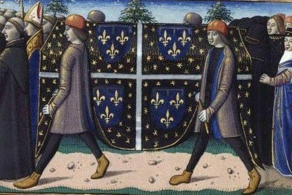 Les funérailles de Louis d'Orléans.