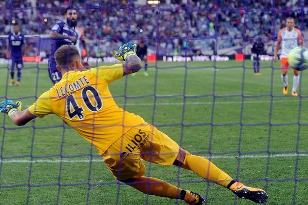 Toulouse s'impose 1-0, sur un penalty.