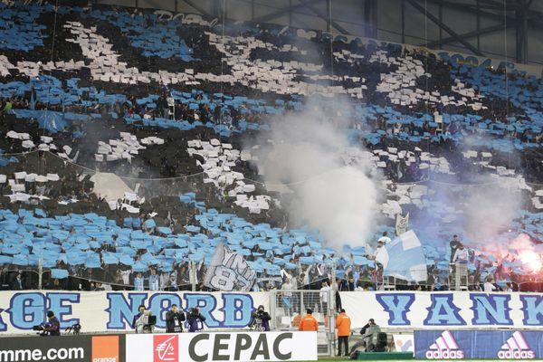 Les supporters de l'OM au Vélodrome (illustration).