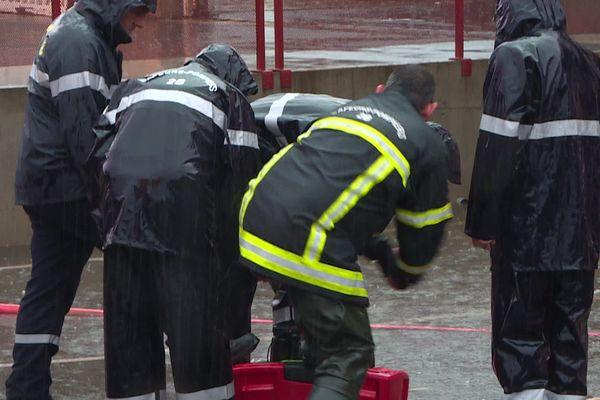 220 sapeurs-pompiers ont été mobilisés au plus fort de l'épisode orageux.