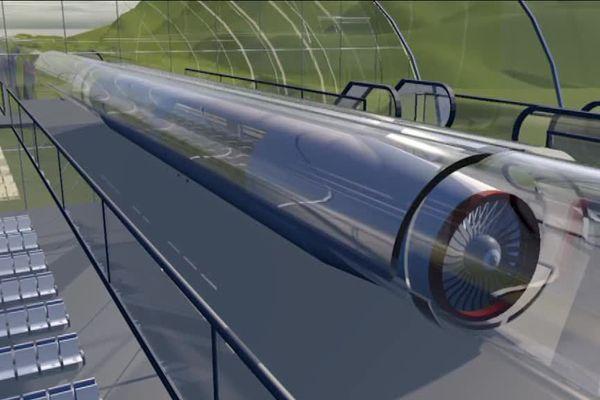 Les travaux de la piste d'essai Hyperloop de Droux devraient débuter à l'automne 2018