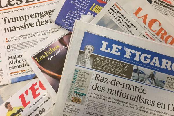 Le regard des éditorialistes au lendemain du premier tour des élections territoriales en Corse.