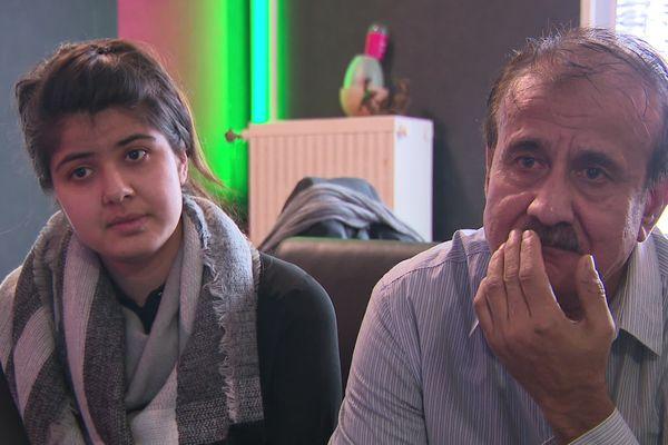 Zuhal, une jeune afghane de 22 ans, est menacée d'expulsion après avoir enfin retrouvé son père à Alençon dans l'Orne. Tout deux ont été séparés pendant 18 ans.