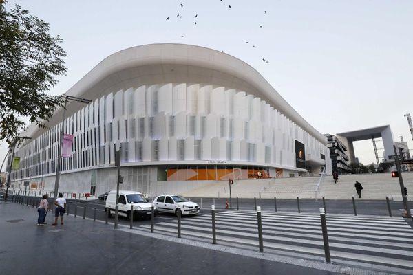 La Défense Arena, à Nanterre, vue de l'extérieur. Photo AFP