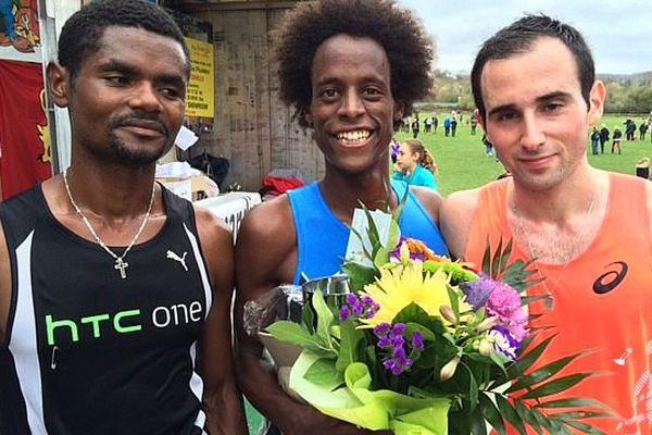 - De gauche à droite : Girma ASHEBIR , Yosi GOASDOUE, Benjamin PIRES