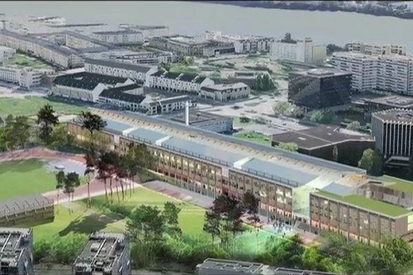 Le futur lycée international de Nantes