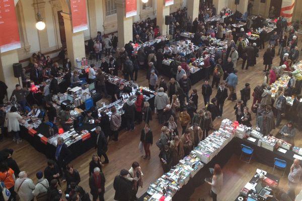 La grande librairie du Palais de la Bourse.
