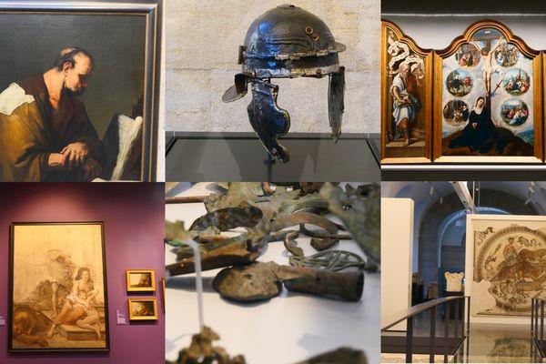 Nous vous présentons 6 oeuvres remarquables, à découvrir au MBAA de Besançon, à partir du 16 novembre.