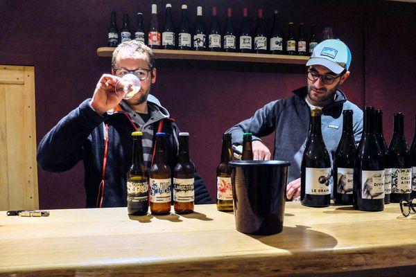 Mathieu Ressejac et Germain Croisille, créateurs de la brasserie les Acolytes