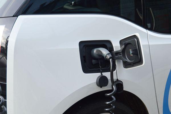 Un véhicule électrique (image d'illustration).