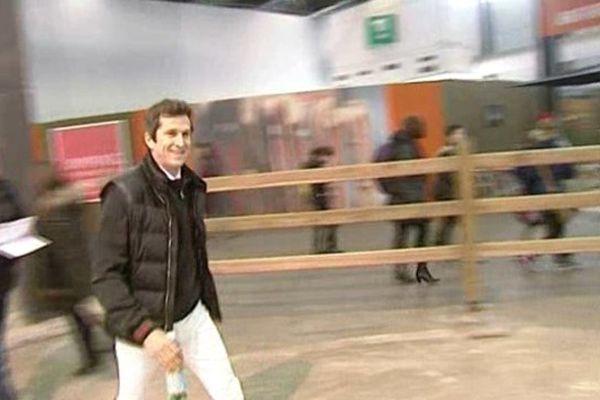 Guillaume Canet au Jumping de Bordeaux