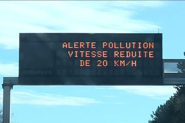 Vitesse réduite de 20 km/h sur L'A31 et l'A4