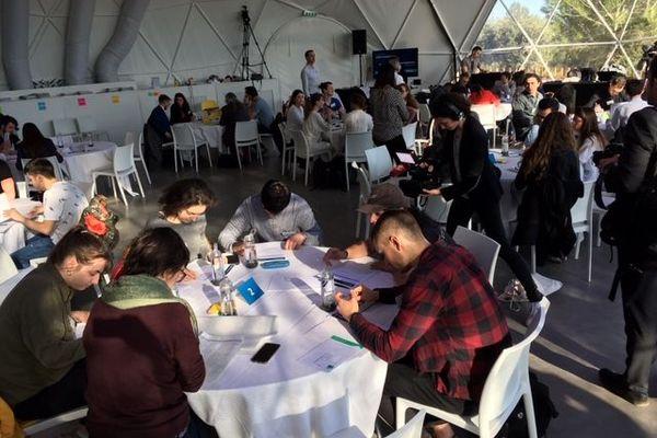 Aix-en-Provence : grand débat national à The Camp