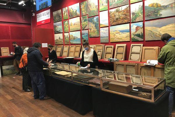 350 œuvres de Charles Wislin sont vendues aux enchères.