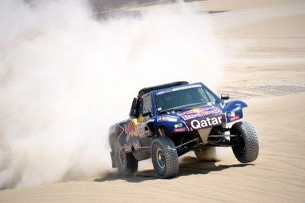 Alexandre Vigneau et Eric Bernard parcoureront le Paris-Dakar en Buggy.
