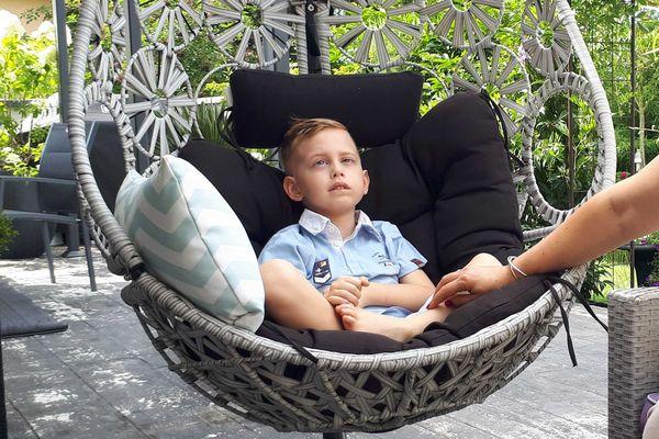 Hugo espère pouvoir intégrer un essai clinique aux Etats-Unis.
