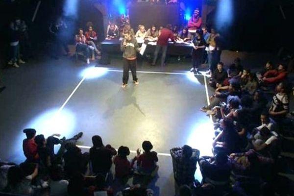 Battle de hip hop à Creil