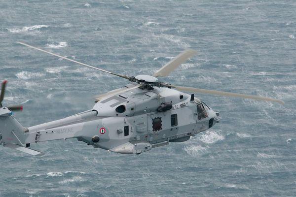 Hélicoptère Caïman de la Marine nationale