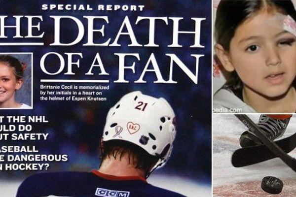 Blessures graves, décès : le palet de hockey a déjà entraîné des drames ces quarante dernières années.