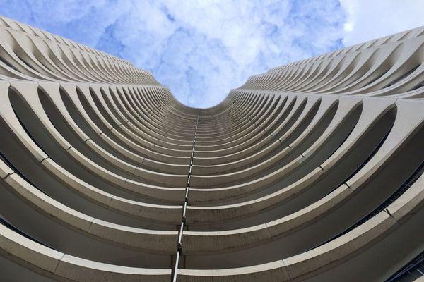 La tour des Horizons à Rennes - Architecte Georges Maillols
