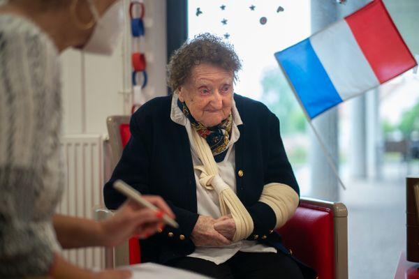 Geneviève Philizot, une résistante de l'ombre.