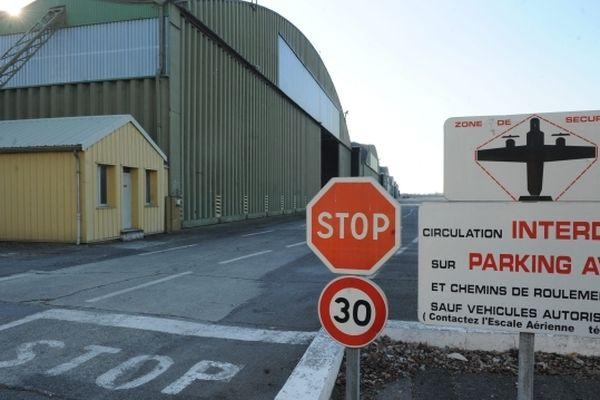 L'entrée de l'ex base aérienne de Toulouse-Francazal