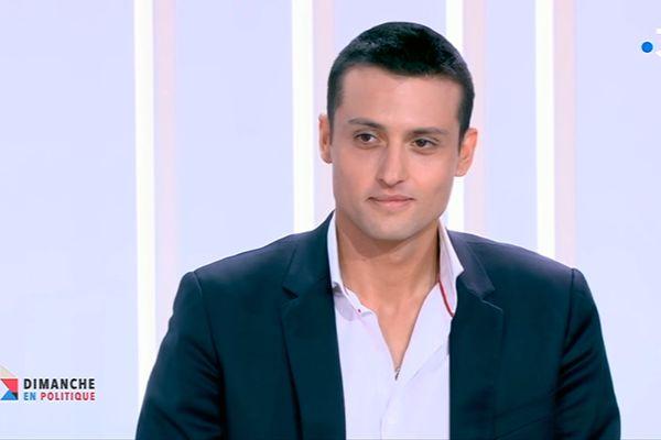 Aleksandar Nikolic, tête de liste RN pour l'élection régionale en Centre-Val de Loire, était l'invité de Dimanche en politique le 14 mars dernier