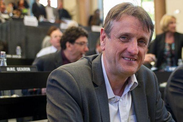 Jean-François Macaire, président de la région Poitou-Charentes