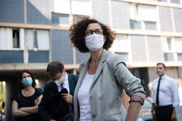 Emmanuelle Wargon, ministre déléguée chargée du Logement, à Marseille les 25 et 26 novembre.